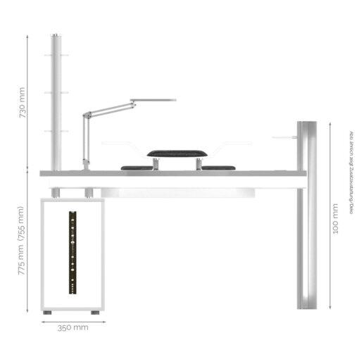 Camaro Tisch Maße