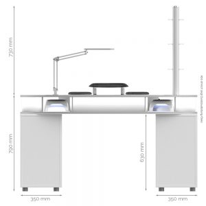 Monza-Tisch-Masse