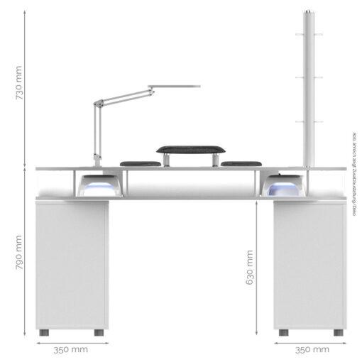 Monza Tisch Maße