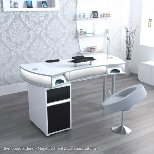 nagelstudio tisch mit absaugung dekoration bild idee. Black Bedroom Furniture Sets. Home Design Ideas