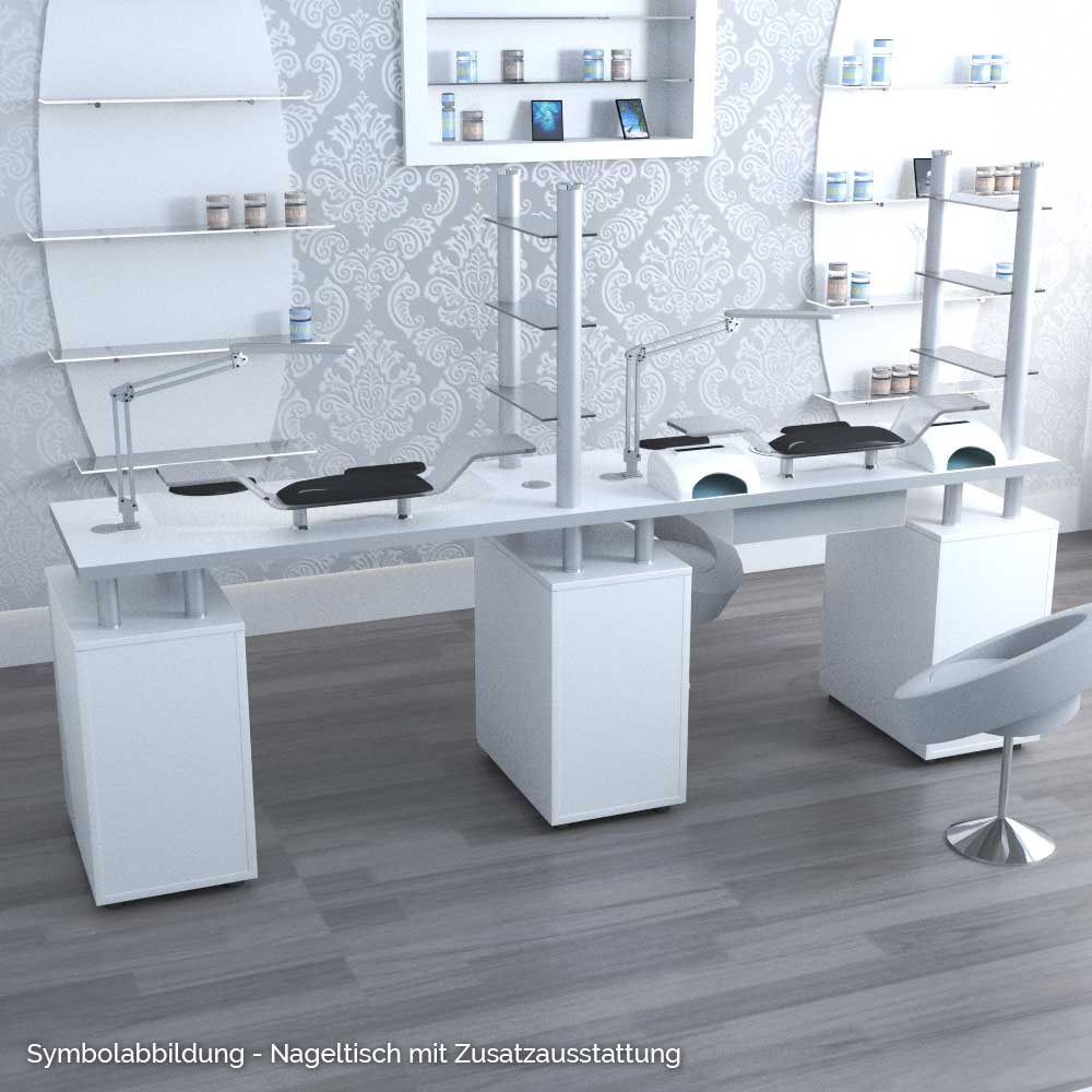 venice double nageltisch nova flair. Black Bedroom Furniture Sets. Home Design Ideas