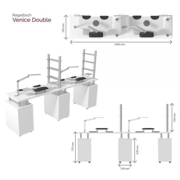 Venice Double Maße
