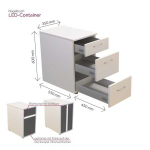 LED-Container-Masse