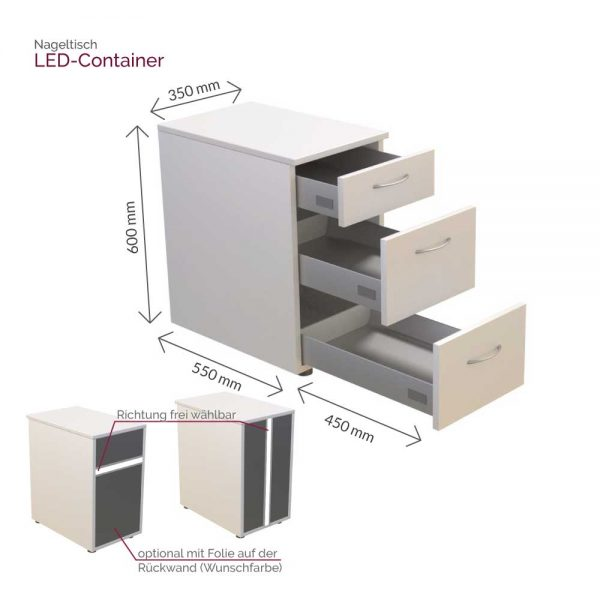 Led Container Maße